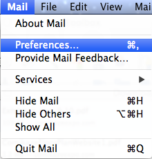 add usc email mac mail