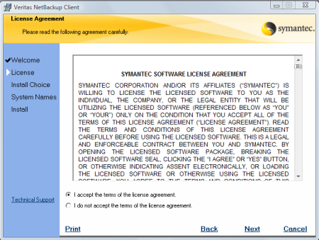 symantec netbackup client latest version