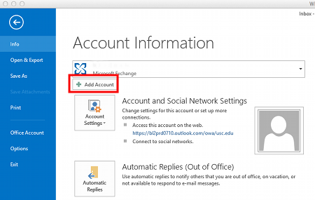Configuring Outlook 2013 for Office 365 (Windows) | IT