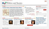 Politics and Society home page
