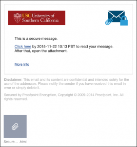 Email Encryption | IT Services | USC
