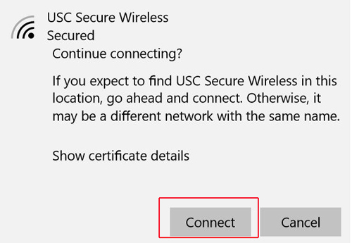 PC - Connecting to Wireless (Certificate)