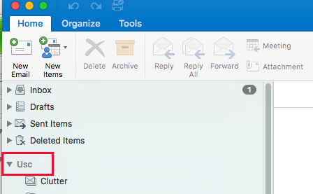 Creating Top-Level Personal Folders in Outlook 2016 (Win and Mac