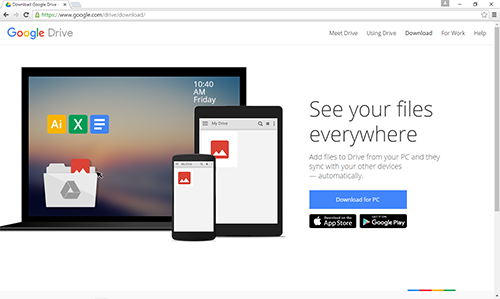 Google Drive Apps for Desktop and Mobile Devices | IT ...