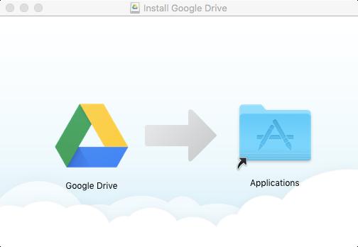 Google Drive Mac Install