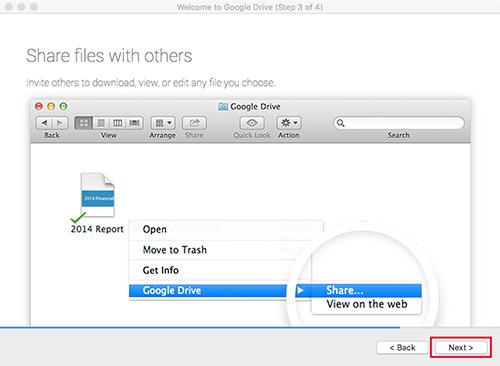 Google Drive Mac Step3