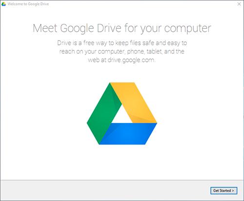 Google Drive Windows Get Started