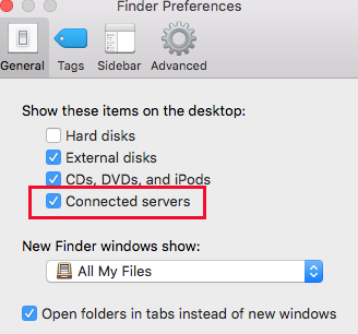 USC Drive Mac_FinderPreferences