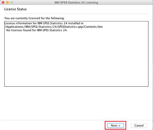 spss 24 license code free mac