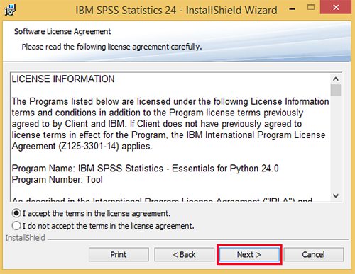 Installing spss for windows it services usc on the destination folder screen click next to install the software to its default location platinumwayz
