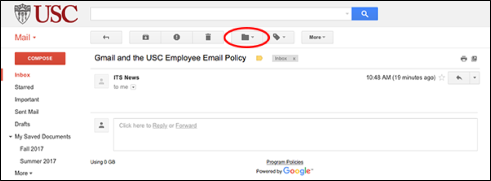 Moving Your Important Messages to Personal Gmail Labels | IT